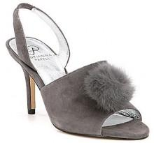 Adrianna Papell Alecia Pom Pom Dress Sandals