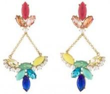 Lulu Frost Multicolor Chandelier Earrings