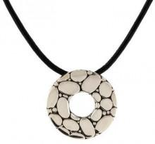 John Hardy Round Pendant Necklace