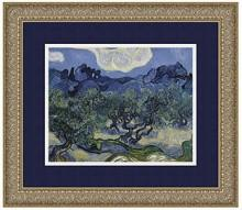 Amanti Art The Olive Trees, 1889 Framed Art Print by Vincent van Gogh